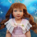 "Кукла Редкая ""Nanette"" кукла от Helen Kish шарнирная 1995 12"" винил!"