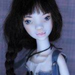 Фарфоровая кукла от Ларисы Насанович