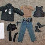 Продам костюм полицейского Нью-Йорка для экшенов