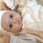 Малышка Маргарита, кукла реборн Натальи Баштовой