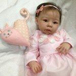 Малышка Розочка, кукла реборн Натальи Баштовой