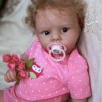 Малышка Агата - кукла реборн Натальи Баштовой