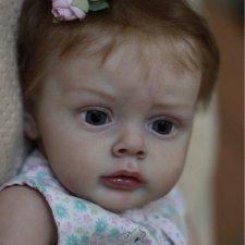 Маленькая Хлоя - кукла реборн Натальи Баштовой