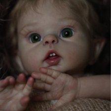 Маленькая кроха Луна - кукла реборн Натальи Баштовой