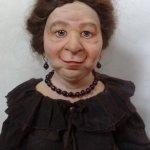 Роза Моисеевна или Фиш от Розы, сплошной цимес. Авторская кукла своими руками