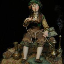 ХАДИЖА / KHADIZHA. Авторская кукла