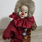Добрый винтажный клоун с фарфоровой головой от GLOREX