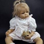 Малышка Nicki от автора Inge Tenbusch для Hofheimer-Kinder. Подпись автора. 63 см