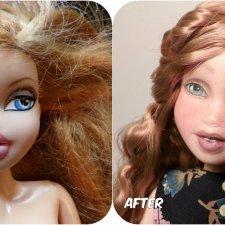 Doll- By:Alyssa Byrnes At EarthWoodBeautyDolls