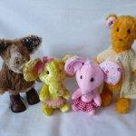 Плюшки - зверюшки, продолжение рассказа об игрушках ручной работы