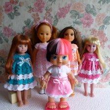 Весенние платьица для кукол