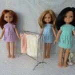 Платьице для кукол Паола Рейна 32 см (скидка)