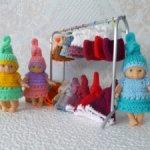 Распродажа! Комплект одежды для куклы-пупса 12 см