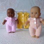 Распродажа! Комбинезон для куклы - пупса 18-20 см