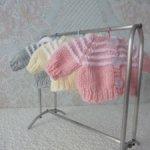 Кофточки с капюшоном для куклы-пупса 26 см