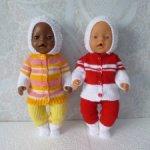 Комплект одежды для куклы-пупса бэби бон (борн)