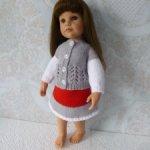 Комплект одежды для куклы формата Готц 45 см сер.