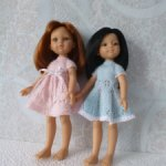 Платьице для кукол Паола Рейна 32 см Скидка
