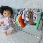 Одежда для куклы-пупса 21 см (Паулини П.Рейна)