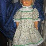 Прессопилочная  советская кукла  Катя 50-х годов. Цена снижена!