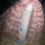 Мохеровый парик на окружность головы 16-17с