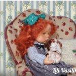 Мама для щенков. Авторская кукла