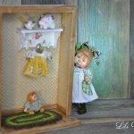 Маленькая мама - авторские куклы Лилии Василик