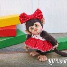 Маленькая модница - игрушки Лилии Василик