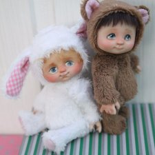 Малыши в ладошку - куклы  и игрушки Лилии Василик