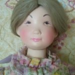 Винтажная куколка  от Suzanne Gibson Dooll.Co.