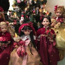 После всех новогодних праздников - мои любимые куклы