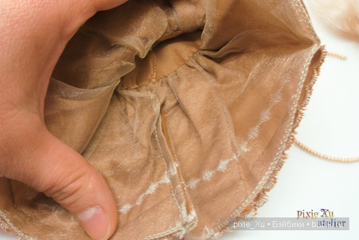 изнанка платья из тафты для Momocolor29