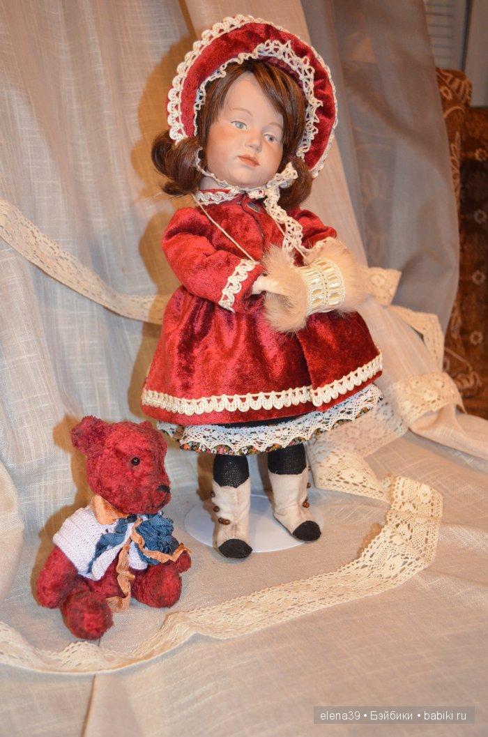 Реплика антикварной куклы