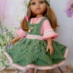Мастер класс,одежда для кукол Паола Рейна