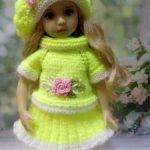 Комплект одежды для кукол 33см