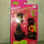 Шиньон для барби Cut and style BARBIE Doll (1994) брюнетка. Новый
