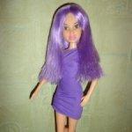 Кукла LIV игра с цветом. Фиолетовая . Не игранная.