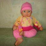 Кукла Chou Chou ( шу шу) говорящий в полном комплекте . Не игранный