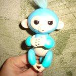 Интерактивная обезьянка Чарли Fingerlings WowWee