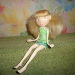 кукла каркасная фея 2005 manhattan toy сша. редкая