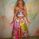 кукла барби пляжница 2015г