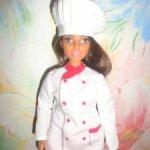 кукла барби из сета шеф повар и официантка