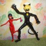 Куклы леди баг (маринет ) и супер кот ( адреан)