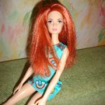 Кукла барби стиль. Рыженькая