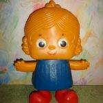 Кукла топотушка ссср . В отличном состоянии