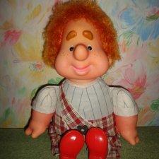 Кукла карлсон ссср . 50 см . Не игранный