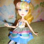 Кукла эвер афтер хай . блонди локс серия сладкая