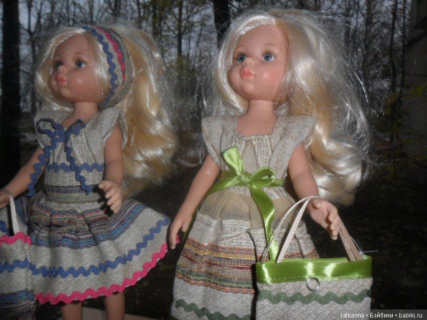 Летний сарафан для куклы