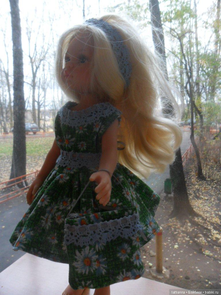 Платье для куклы Ромашки