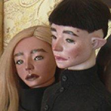 Юноши в черном. Шарнирные куклы